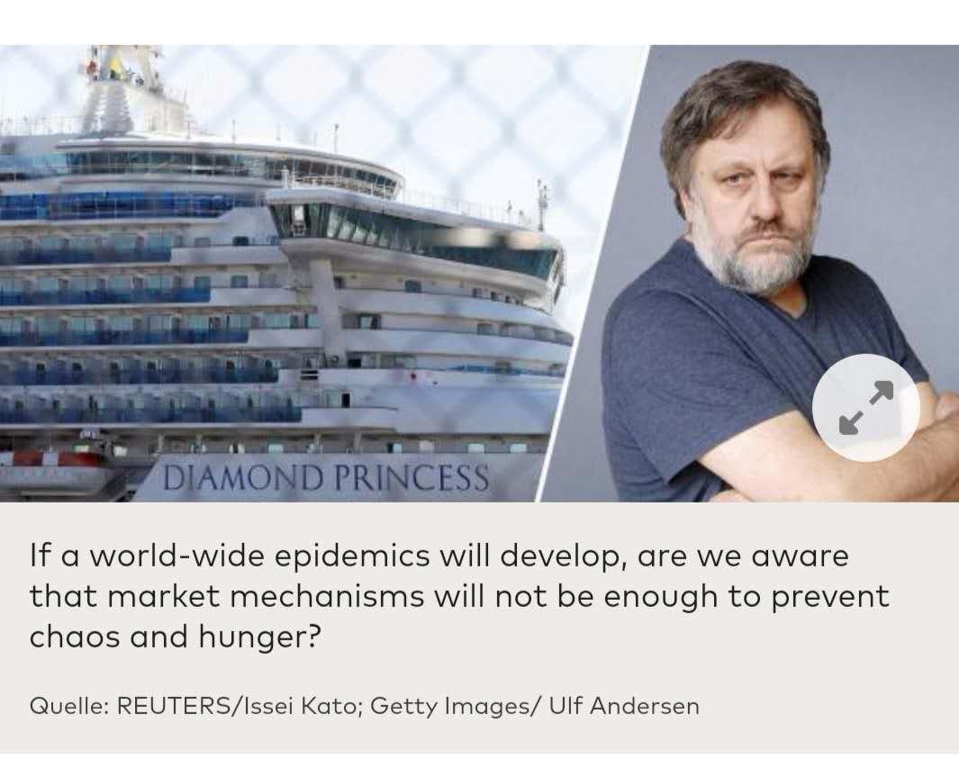 齐泽克:现在我们在同一条船上——它正是钻石公主号