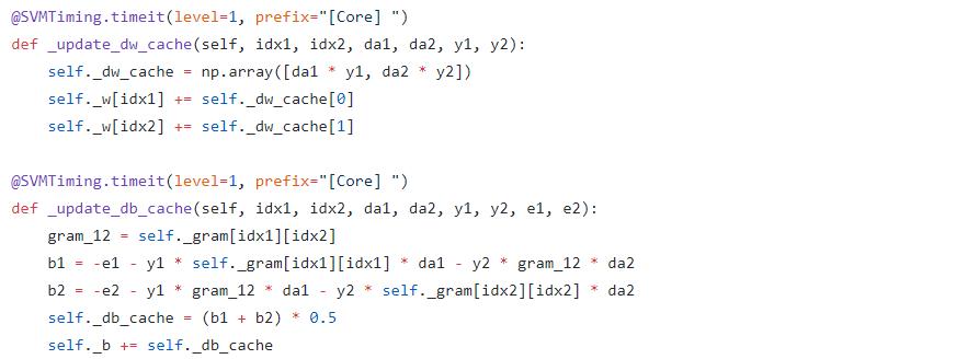 Python · SVM(四)· SMO 算法
