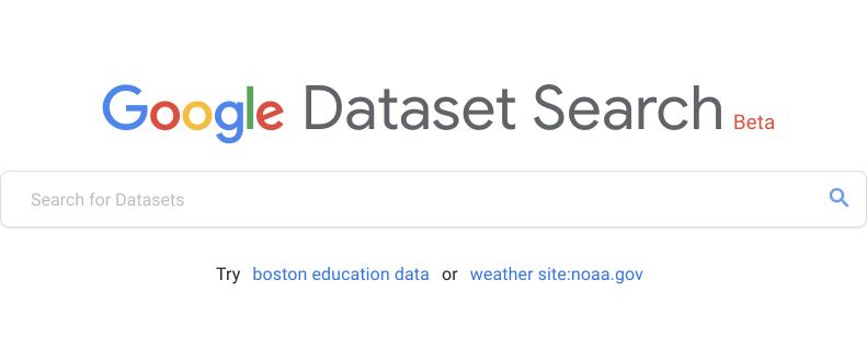 Google数据集搜索神器上线,像搜论文般简单|还不去训练?