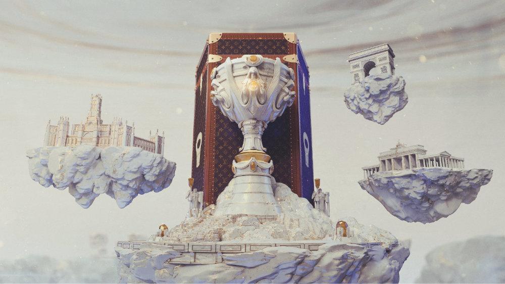 路易威登和拳头游戏从2019年起就全球总决赛展开合作关系
