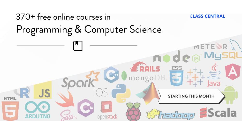 370 门免费编程与计算机科学在线课程