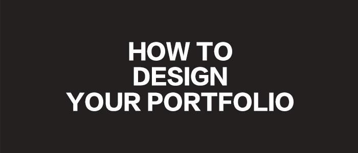 干货来袭,来自顶级设计师的作品集建议