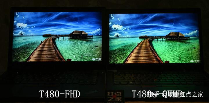 T480/T480s 全高清FHD屏(1920*1080p)对比视网膜2K-WQHD屏(2560*1440p