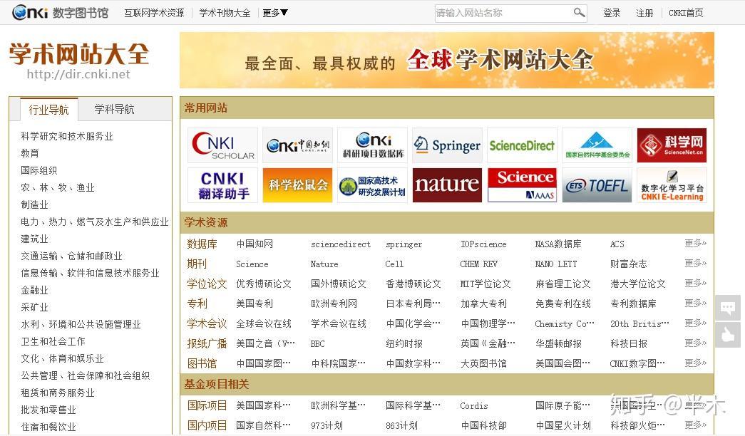 哪些网站:各行业、专业领域有哪些垂直导航网站?-U9SEO