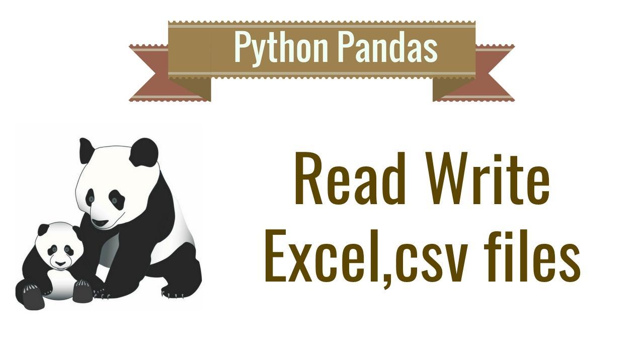 小白也能学习的 python pandas excel 处理[视频]