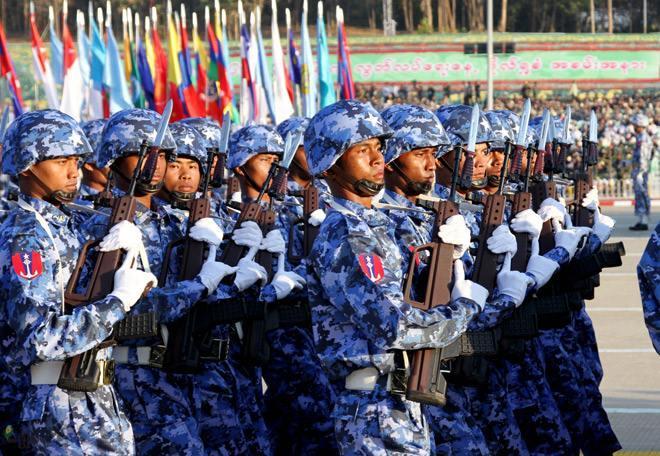 缅甸轻兵器概览——缅军制式篇