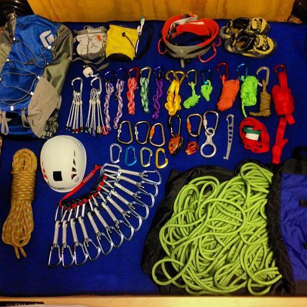 【装备篇】新人需要购置的攀岩装备有哪些?