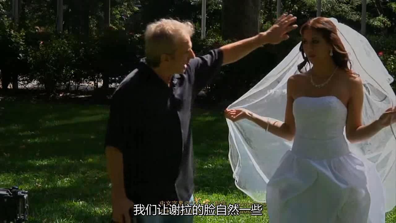【S89】Cliff Mautner 婚礼婚纱室外摄影布光教程中文字幕