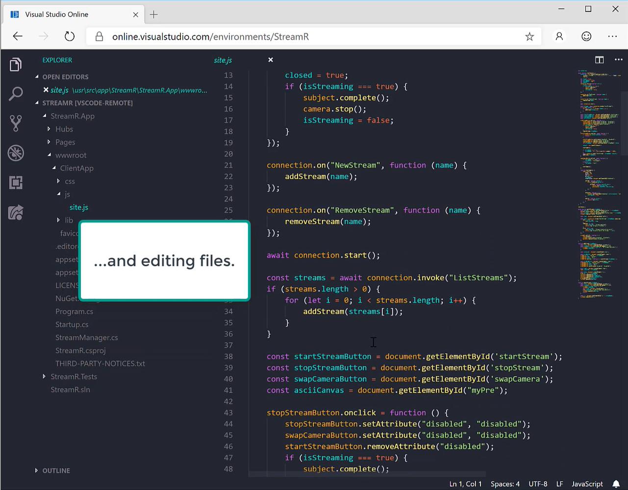 Web 版 VS Code (Visual Studio Online) 即将来临!