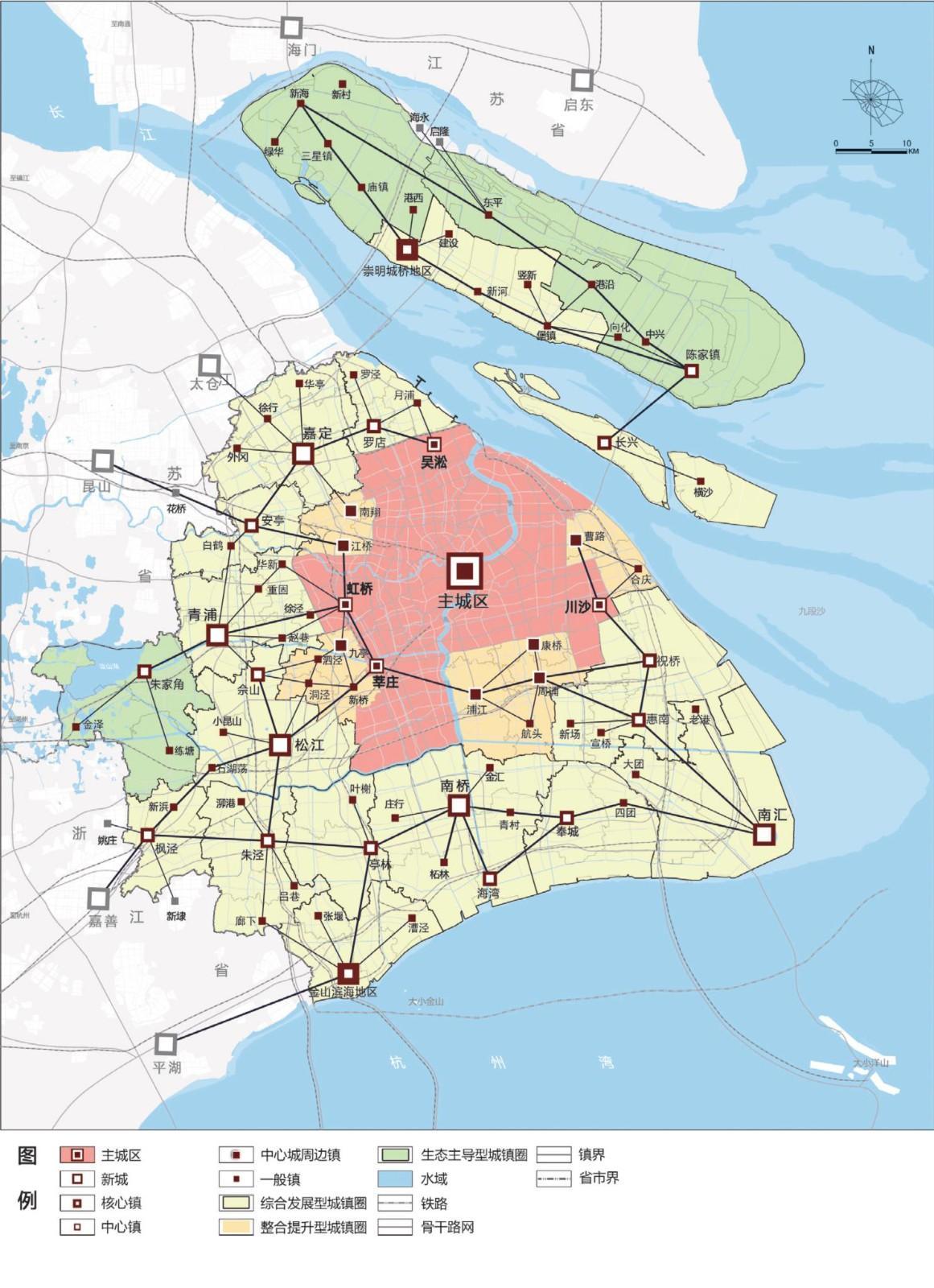 上海市城市总体规划(2016-2040) - 知乎