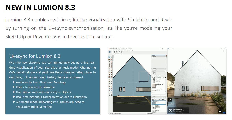 Lumion8 3发布| 终于实现实时同步!!! - 知乎