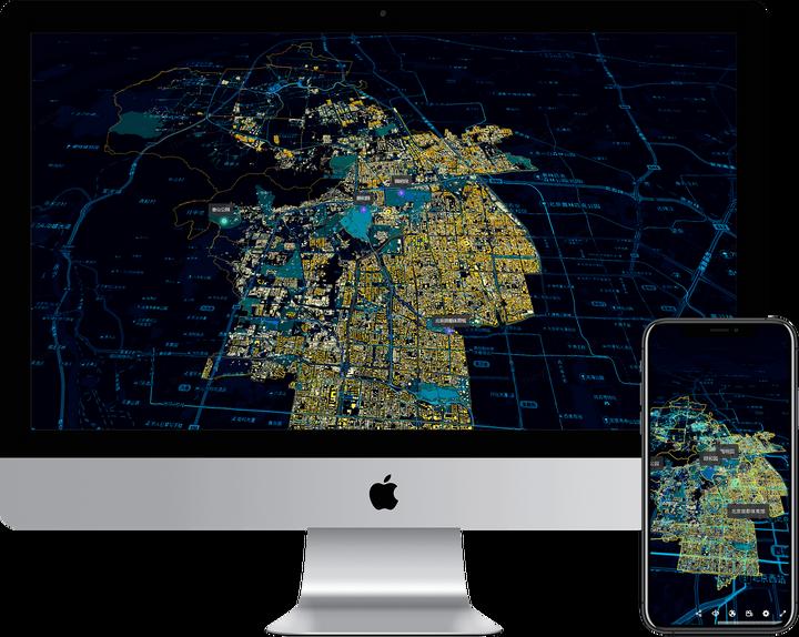 连系Echarts、Ajax技术实现可视化大屏监控 ThingJS