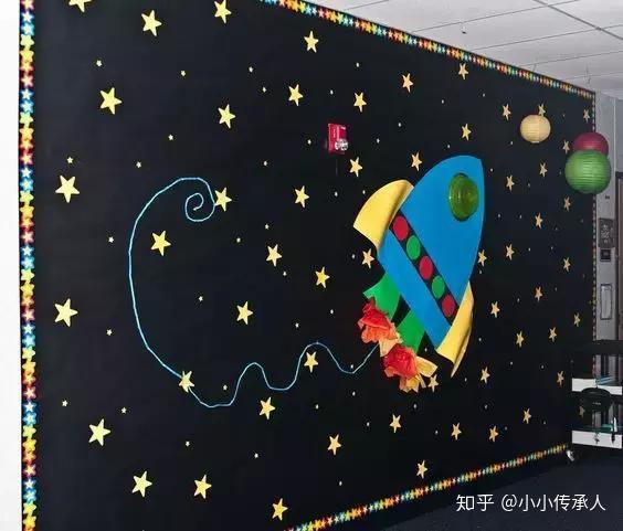 小小传承人:8款开学幼儿园创意主题墙,简单漂亮快收藏