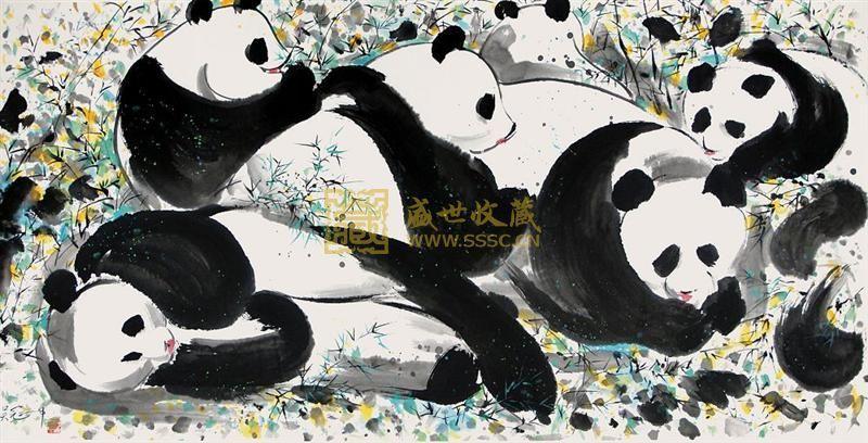 (九)传奇的熊猫五梁液酒
