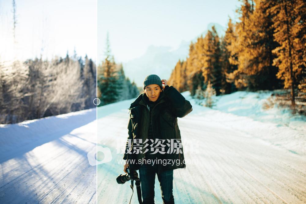 【P302】INS网红油管大神Alen Palander冬季旅拍风光高级LR预设 Winter Pack – 11 Premium Presets