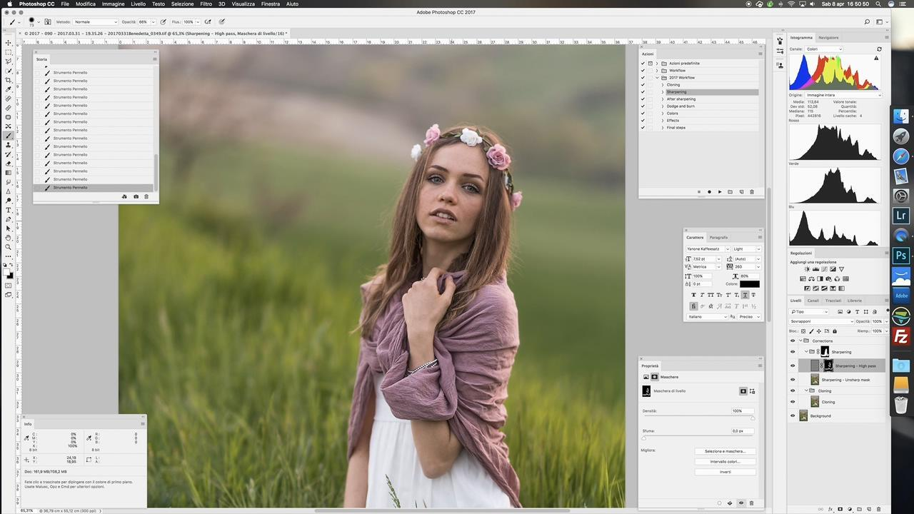 【S422】摄影师Luca Foscili -草原上的少女人像后期教程,大师的摄影秘诀,你需要学习!