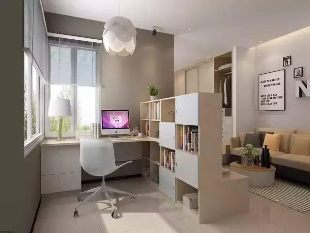 开放式书房客厅隔断_一居室的客厅如何再隔出一间卧室? - 知乎