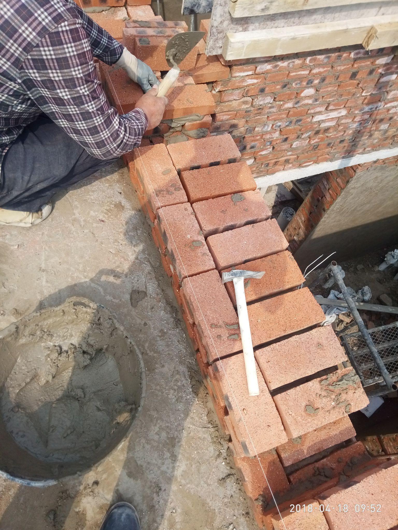 24墙砌墙图_标准砖的尺寸(240/115/53mm)是怎么确定的?为什么是这样的? - 知乎