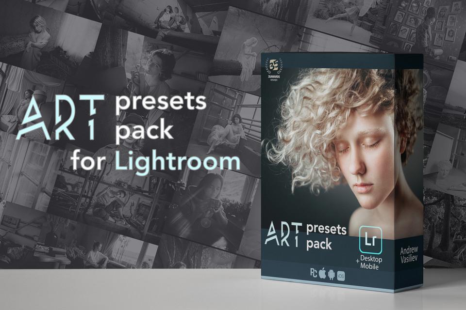 【P316】俄罗斯近卫人像摄影师Andrew Vasiliev高级感电影LR预设Andrei Vasiliev Art Lightroom Presets