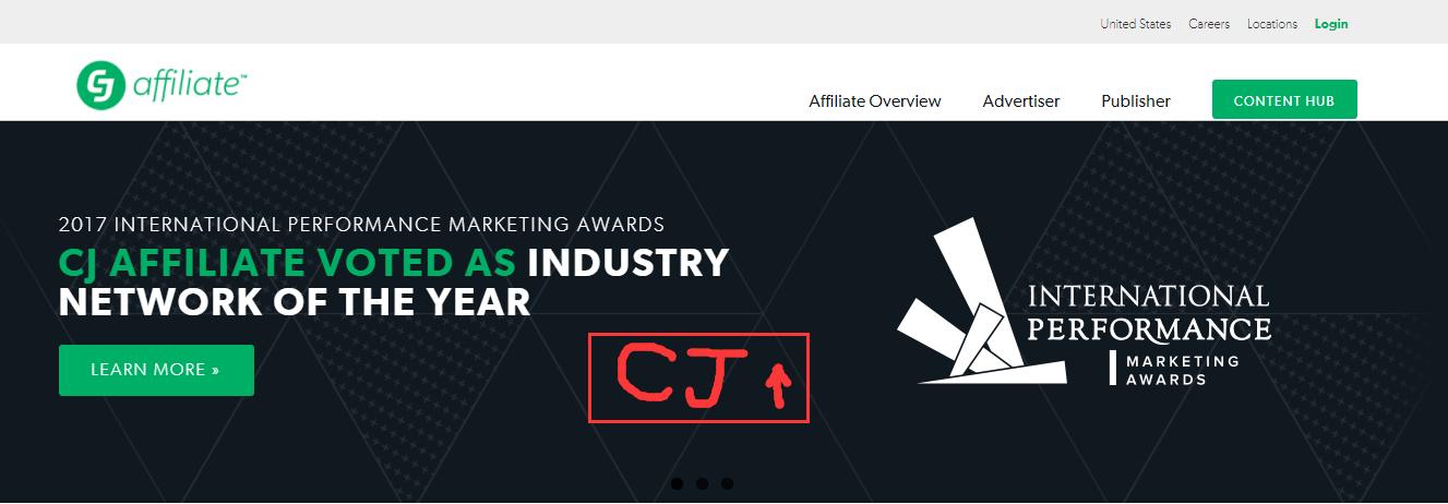 国外联盟营销平台 Commission Junction (CJ)注册图文教学