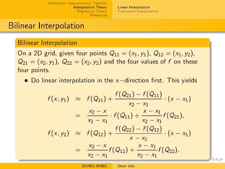 多项式插值算法与回归算法- 知乎