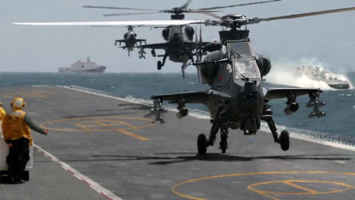 直升机和直升飞机_浅析075型两栖攻击舰部分技术性能(三) - 知乎