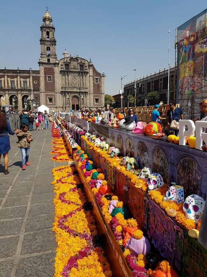 墨西哥壁画运动_墨西哥亡灵节全程追踪,从墨城到六个墨西哥传统小镇 - 知乎