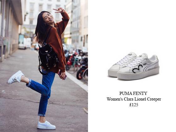 uk availability 8968a 683f0 大表姐刘雯同款白色运动鞋,英国直邮推荐- 知乎