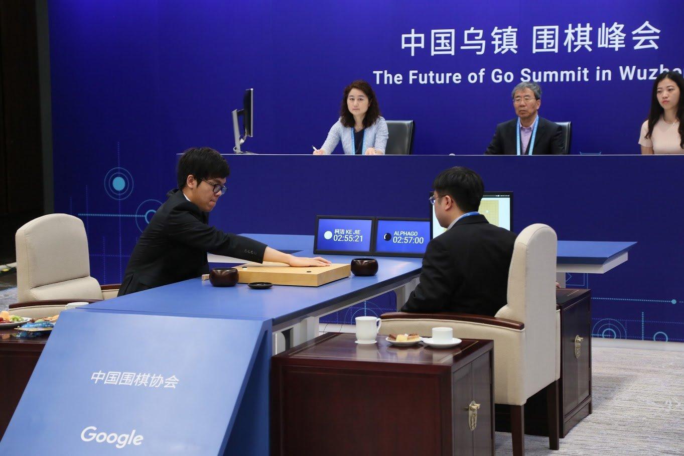 心跳之局:AlphaGo强大,柯洁伟大!