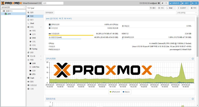 基于PROXMOX VE的家庭NAS搭建方案