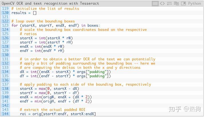 文本识别使用Tesseract 进行OpenCV OCR 和文本识别- 知乎