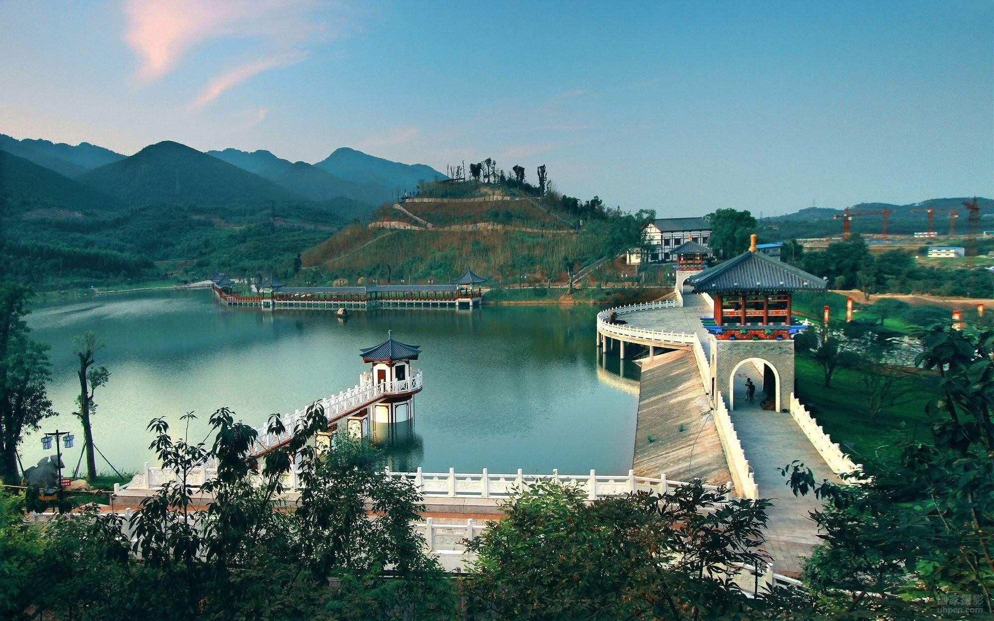游永川神女湖,清新雅致,闲静舒适