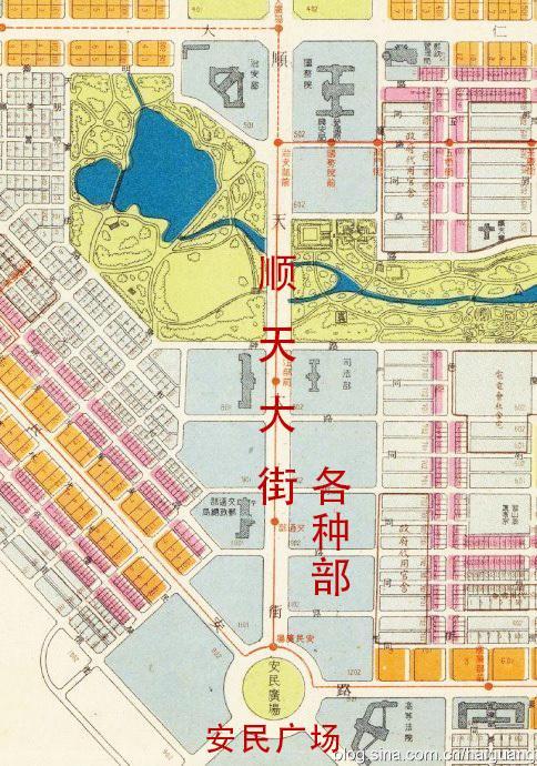 中国各大城市面积_伪满洲国首都计划   日本军国的大东亚迷梦 - 知乎